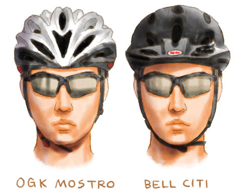 ヘルメット、OGK MOSTROを買った ...